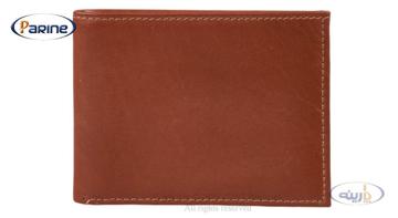 کیف پول جیبی چرم طبیعی مردانه مدل Lp3