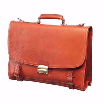 کیف اداری چرم طبیعی مردانه مدل L8
