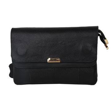 کیف دوشی زنانه چرم مدل PLV169