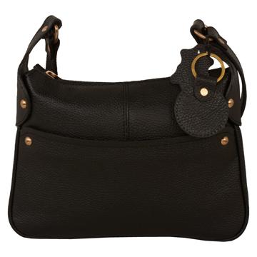 تصویر کیف دوشی چرم طبیعی زنانه مدل V191