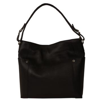 تصویر کیف دوشی چرم طبیعی زنانه مدل V198