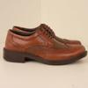 کفش رنگ عسلی چرم مردانه