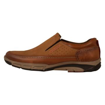 تصویر کفش چرم طبیعی مردانه مدل SHO179