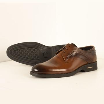 کفش مردانه چرم طبیعی مدل sho205