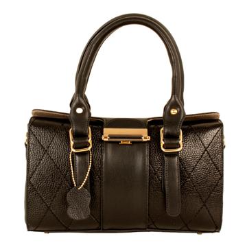 تصویر کیف دستی چرم ترکیبی زنانه مدل plv11