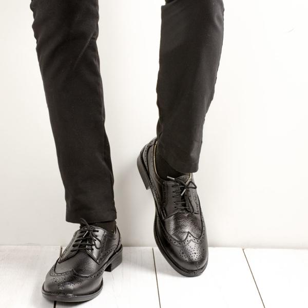 کفش چرم کلاسیک